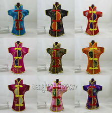 Wholesale Oriental Chinese Dress Silk Wine Bottle Covers Gift Wrap Party Decor