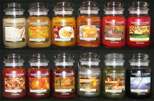 Yankee Candle - You Pick 22 oz Jars - FALL SCENTS - MANY RARE & RETIRED!!