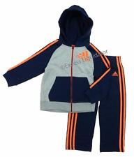 ADIDAS BOYS ATHLETIC 2 PIECE FLEECE OUTFIT SET