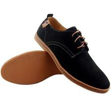 Mens Casual/Dress Formal Oxfords Flats Shoes Lace up Faux Suede Leather Shoes