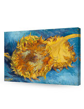 DecorArts-Two Sunflowers VanGogh Art Reproduction Giclee Canvas Prints