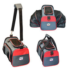 Expandable Airline Approved IATA Carry On Tavel Pet Dog Cat Soft-Sided Carrier