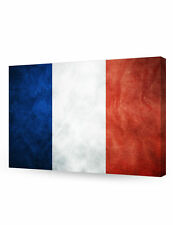 DecorArts-France Flag Giclee Canvas Prints for Home Wall Decor