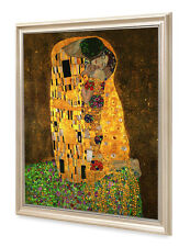 DecorArts-The Kiss,by Gustav Klimt Giclee Print& Framed Art for Wall Decor24x30""