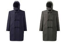 Beau Brummel Duffle Coat Wool Blend Jacket Hooded Winter Schoolwear Age 4-14 Yrs