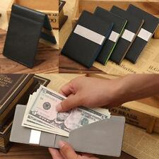 Fashion Mens Wallet Boys Leather Magic Credit Card ID Holder Money Clip Wallet