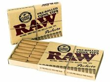 Raw Pre-Rolled Cone Rolling Paper Filter Tips ***multiple variations***