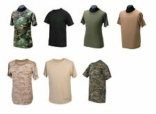 Camouflage Tactical T-Shirt Short Sleeve Military Tee Shirt Tru-Spec
