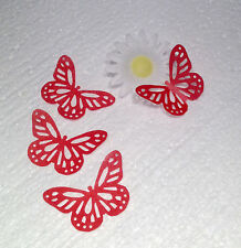 Butterfly x24 fairy Cup Cake Toppers Edible Rice Paper decorations Cut Out**