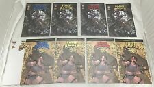 TOMB RAIDER SPHERE OF INFLUENCE MASTER SET DF GOLD RED BLUE Foil VARIANT COA NM