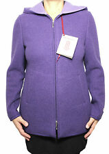 MERLET women's jacket fabric double violet/lilac 100% wool MADE IN ITALY
