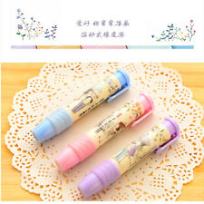 Cute School Students Pen Shape Eraser Rubber Stationery For Children Kid Toy New