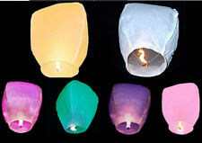 Assorted Chinese Sky Lanterns Sky Fire Fly Lamp  Wedding Party  Wish Mix Color