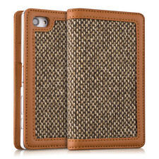 kalibri CASE WALLET STYLE DONNA FOR SONY XPERIA Z5 COMPACT COVER FLIP TWEED
