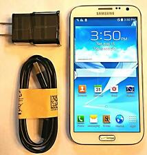 Unlocked Verizon Prepaid Samsung White NOTE 2 16GB 4G LTE - No contract GOOD ESN
