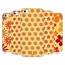HEAD CASE DESIGNS FLORAL PATTERN SOFT GEL CASE FOR APPLE iPHONE 5C