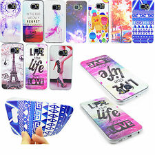 Ultra Thin Silicone Soft TPU Back Cases Phone Skin Cover For Samsung Galaxy S6
