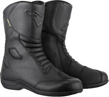 ALPINESTARS WEB Gore-Tex Leather Touring Motorcycle Boots (Black) Choose Size