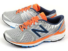 New Balance M1260SO5 2E Grey & Silver & Orange & Blue Stability Running Shoes NB