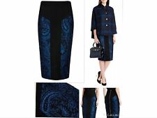 Womens Ted Baker High Waisted Bodycon Jacquard Pencil Skirt RRP £139 Size 6