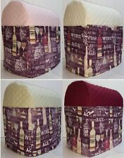 Quilted Purple Wine Cover for Kitchenaid 7qt Lift Bowl Stand Mixer