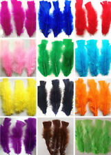 beautiful 50/100pcs natural goose 14-18cm / 5-7inches multicolor