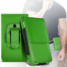 Soft PU Leather Pouch Belt Holster Case Cover For Motorola Moto E 2nd Gen
