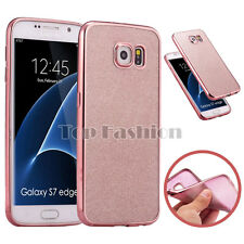 Shockproof Bling Glitter Ultra-thin Back Case Skin Cover For Samsung Galaxy