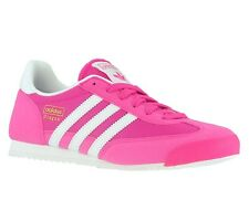 adidas Originals Dragon J Shoes Children's Sneakers Trainers Pink S74827 SALE