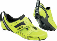 LOUIS GARNEAU TRI X-LITE TRIATHLON BIKE SHOES HIGH VIS YELLOW 2016