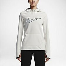 SZ L AUTHENTIC Nike All Time 3 Graphic Womens Therma Fit Hoodie Sweatshirt Hoody