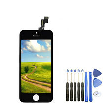 New LCD Display Touch Screen Digitizer Assembly + Opening Tool For Iphone 5S