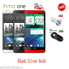 "HTC ONE M7 Unlocked 4.7"" LTE 4G Smartphone Wifi Dual Camera 32GB 801E T-Mobile"