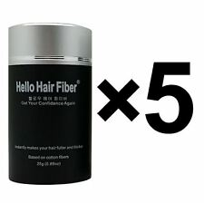 5 Units - Bald Cover Hair Loss Concealer Hair Building Fibers - Scratch Sale
