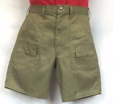 New Men's Boy Scouts Of America BSA 6-Pocket Vintage Uniform Shorts Made in USA