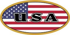 American Flag U.S.A.CountryCode Decal / Sticker