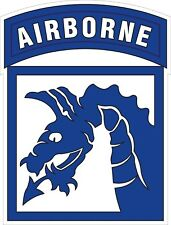 U.S. Army 18th Airborne Corps SSI Decal / Sticker