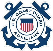 United States Coast Guard Auxiliary2 Decal / Sticker