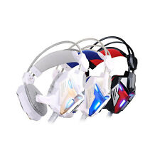 EACH G3100 Pro Gaming Headphone Game Headset with Mic Stereo Bass LED Light COOL