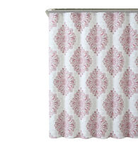 """Blush Tranquility 100% Cotton Fabric 72x72"""" Shower Curtain"""