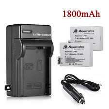 LP-E8 Battery + Charger For Canon Rebel T2i T3i T4i T5i Kiss X5 EOS 550D 650D