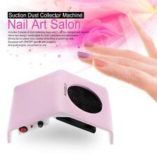 30W Nail Art Salon Suction Dust Collector Machine Vacuum Cleaner Portable P2M1