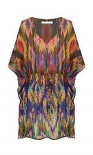 Women's  Kaftan Top Tunic Dress Drawstring Party Evening Size 8-10-12-14-18-20