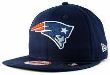 New England Patriots 9Fifty NFL Logo Prime New Era Cap Adjustable Baseball Cap