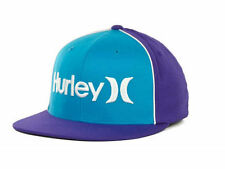 Hurley Only Corp Flat Flex Cap - Purple/Teal