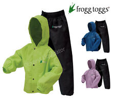 Frogg Toggs Polly Woggs Rain Suits for Kids, Jacket and Pant Set