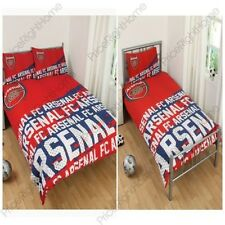 ARSENAL FC IMPACT SINGLE & DOUBLE DUVET COVERS OFFICIAL FOOTBALL BEDDING NEW