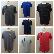 NEW Under Armour Heat Gear Short Sleeve T Shirt Golf Men Top Size S M L XL