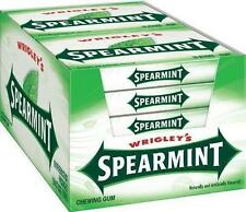 1 PACKET = 5 STICKS OF WRIGLEYS SPEARMINT CHEWING GUM