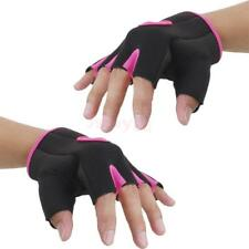 Fabric Half Finger Gloves Gym Sport Fingerless Gloves Bike Bicycle Cycling